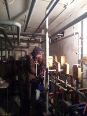 Сварочные работы по монтажу системы отопления. Монтаж труб